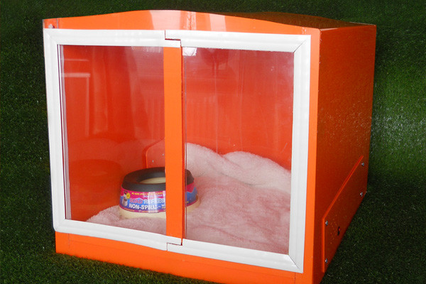 Prestige pets quiet kennel the kennel with soundproof for How to soundproof a dog kennel